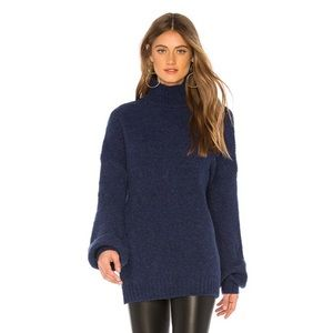 NWT Lovers & Friends navy sweater